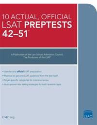 10 Actual 42-51, Official LSAT Preptests: Preptests 42-51