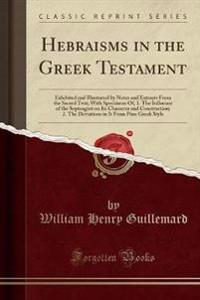Hebraisms in the Greek Testament