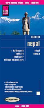 Reise Know-How Landkarte Nepal 1 : 500 000