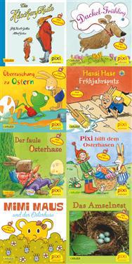 Pixi-Serie Nr. 221: Pixi mit Hasen und Hühnern und Stickern. 64 Exemplare