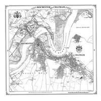 Rochester and Chatham 1863 Heritahge Cartograhy Victorian Town Map
