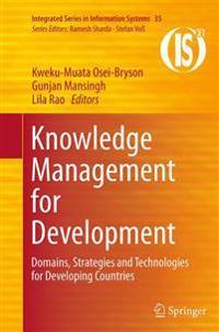 Knowledge Management for Development