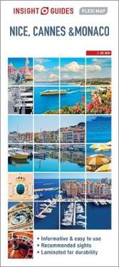 Insight Flexi Map Nice Cannes And Monaco Map Apa Publications