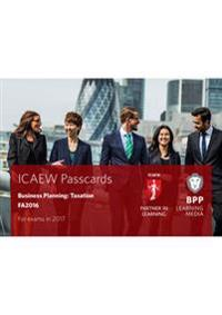 Icaew business planning: taxation - passcards