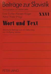 Wort Und Text