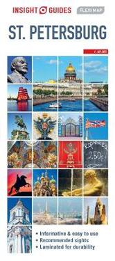 Insight Guides Flexi Map St Petersburg Insight Guides Kartta
