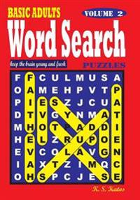 Basic Adults Word Search Puzzles, Vol. 2