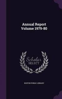 Annual Report Volume 1979-80