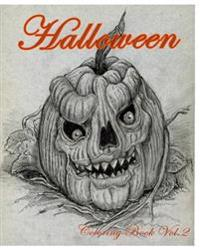 Halloween: Coloring Book Vol.2: Super Fun Fantasy Coloring Books for Kids and Adults