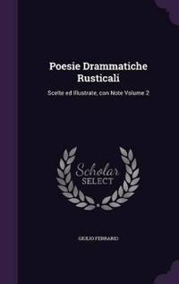 Poesie Drammatiche Rusticali
