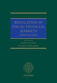 Regulation of the EU Financial Markets
