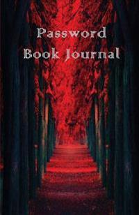 Password Book Journal: Password Book Journal / Diary / Notebook Red