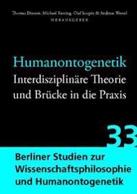 Humanontogenetik: Interdisziplinare Theorie Und Brucke in Die Praxis