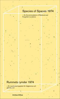 Rummets rymder 1974 : en inackorderingsplats för ihågkomna och glömda rum -  pdf epub