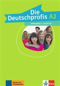 Die Deutschprofis A2. Medienpaket (2 Audio-CDs)
