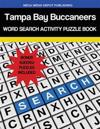 Tampa Bay Buccaneers Word Search Activity Puzzle Book