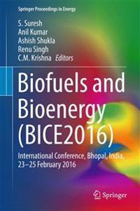 Biofuels and Bioenergy 2016)