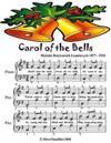Carol of the Bells - Easy Piano Sheet Music - Junior Edition