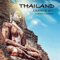 Thailand Calendar 2017: 16 Month Calendar