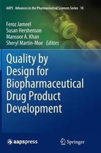 Quality by Design for Biopharmaceutical Drug Product Development