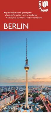 Berlin EasyMap stadskarta