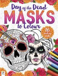 Day of the Dead - Masks to Colour