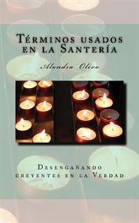 Glosario de Los Termino de Santeria: Desenganando Creyentes En La Verdad
