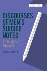 Discourses of Men's Suicide Notes