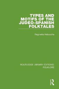 Types and Motifs of the Judeo-Spanish Folktales Pbdirect