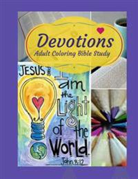 Adult Coloring Bible Study: Devotions