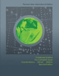 Database systems: pearson new international edition - the complete book