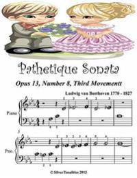 Pathetique Sonata Opus 13 Number 3 Third Movement - Beginner Tots Piano Sheet Music