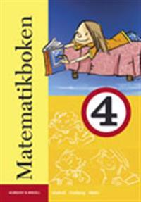 Matematikboken 4 Grundbok - Lennart Undvall, Svante Forsberg, Christina Melin | Laserbodysculptingpittsburgh.com