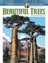Creative Haven Beautiful Trees Coloring Book