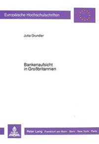 Bankenaufsicht in Grossbritannien