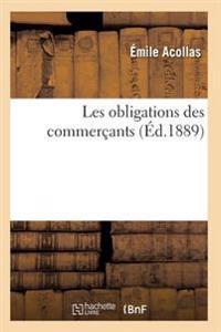 Les Obligations Des Commercants 2e Ed
