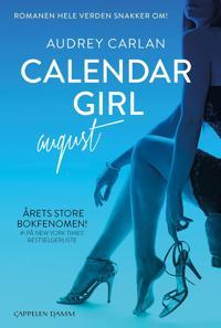 Calendar girl; August