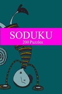 Soduku: 200 Puzzles-6th Edition
