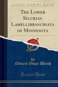 The Lower Silurian Lamellibranchiata of Minnesota (Classic Reprint)