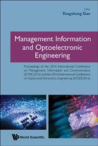 Management Information and Optoelectronic Engineering
