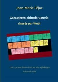 Caractères chinois usuels classés par Wubi