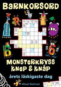 Barnkorsord Monsterpyssel Knep & knåp : Årets läskigaste dag