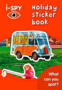i-SPY Holiday Sticker Book