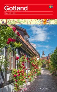 Gotland karta : Skala 1:100000