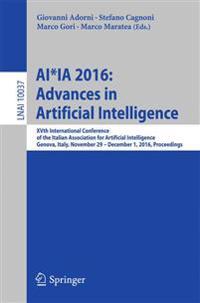 Ai*ia 2016 Advances in Artificial Intelligence