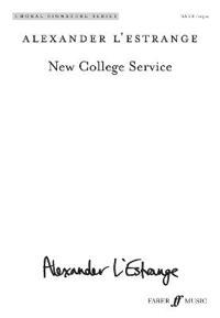 New College Service: Satb (with Organ), Choral Octavo