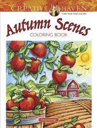Autumn Scenes Coloring Book
