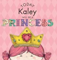 Today Kaley Will Be a Princess
