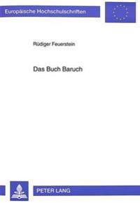 Das Buch Baruch: Studien Zur Textgestalt Und Auslegungsgeschichte
