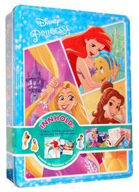 Prinsesse. Disney tinnboks. 3 bøker, 4 tusjer, 1 plakat og 50 klistremerker